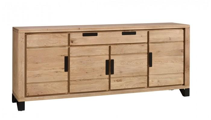 BROOK - Enfilade 4 portes 1 tiroir en...